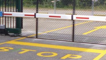 Bedrijfsterreinen en parkeerruimtes