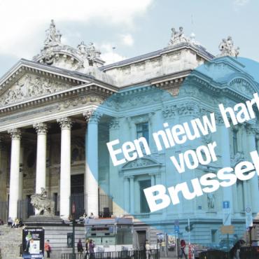 Brussel krijgt grootste voetgangersgebied van Europa