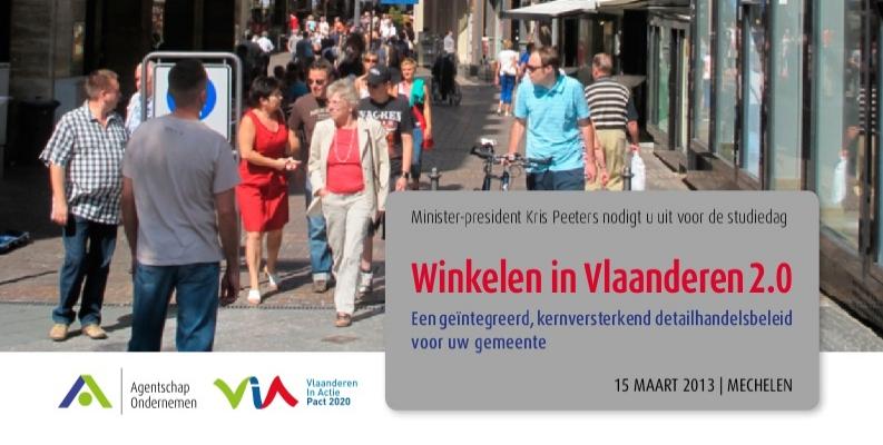 Vlaams winkelplan zet in op stadskernen